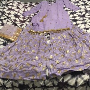 Other - Beautiful pastel purple color sharara
